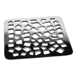 Nature Random Squares™ | Replacement For Kohler K-9136 , square stainless steel shower drains