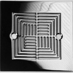 4.25 squared shower drain Sioux cheif