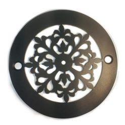 4-Inch-Round-Shower-Drain-Cover-Classic-Motif-No.-7-Oil-Rubbed-Bronze