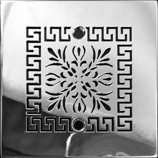 """Architecture Greek Fret No. 2 Shower Drain 