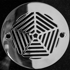 Designer Drains_Geometric Pentagon No.4