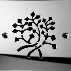 DesignerDrains_Nature Leaves_Square stainless steel shower drains