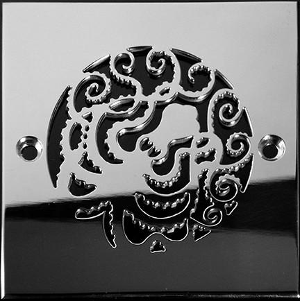 Designer-Drains_Oceanus-Octopus_Square-Drain