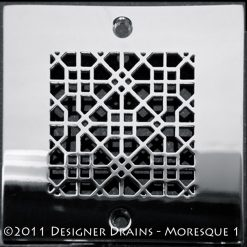 Architecture - Square Decorative Shower Drains