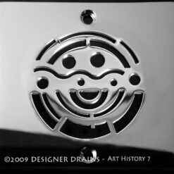 Art History Series - Square Decorative Shower Drains