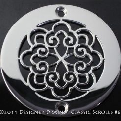 Classic Series - Round Decorative Shower Drains