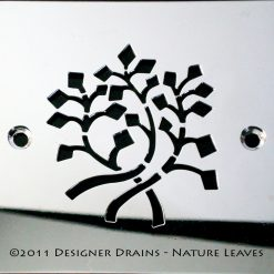 Nature Series - Square Decorative Shower Drains