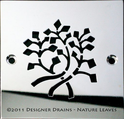 DesignerDrains_NatureLeaves_Square