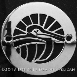 Oceanus Series - Round Decorative Shower Drains