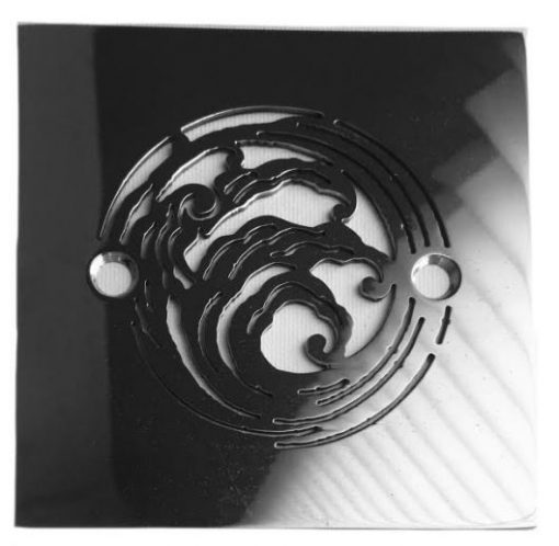 Elements Nami 4.25 Square Drain Replacement for Sioux Chief