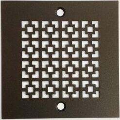 Square Shower Drain Designer Drains Oil Rubbed Bronze_4 Inch square Drain
