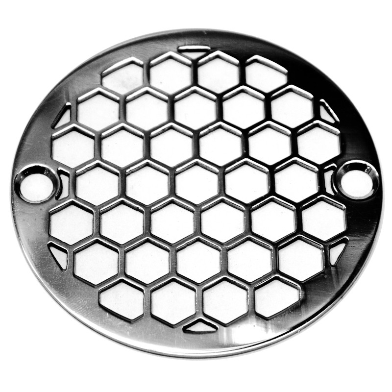 3 25 Inch Round Shower Drain Cover Honeycomb