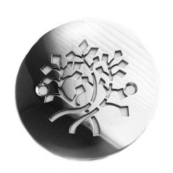 Nature Leaves, 4.25 Round Shower Drain