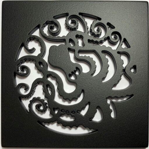 Octopus-Square-Drain_Matte-Black_Designer-Drains