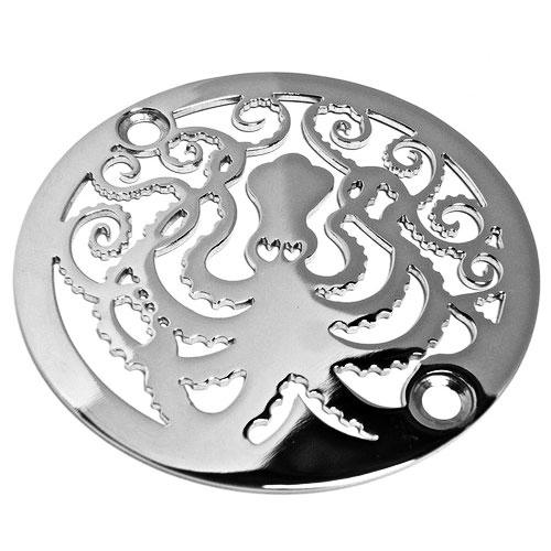 3.25 inch round octopus shower drain