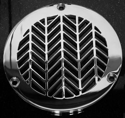 Designer Drains Wheat No.2 Round shower drain