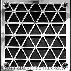 Triangles Square shower drain