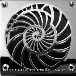 Laticrete Nautilus Shower Drain