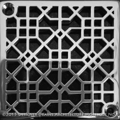 Designer Drains Architecture Moresque No.1 Square_Schluter