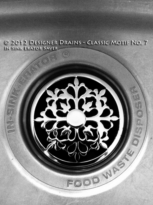Quot Jewelry For Your Sink Quot Classic Motif 7 Kitchen Sink