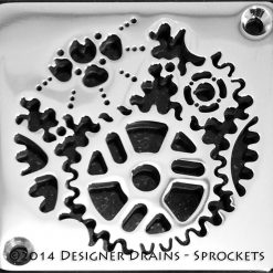Sprockets Square Shower Drains replacement for Schluter