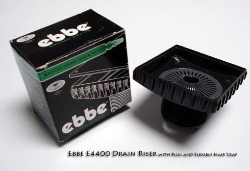 EBBE E4400 Square Drain Riser | Designer Drains
