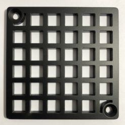 Geometric Square Shower Drain