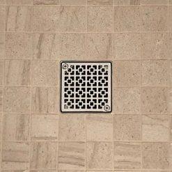 Geometric Squares No.1_Designer Drains_Schluter