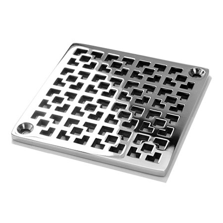 Geometric Squares No.1_Designer Drains