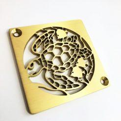 Sea-Turtle-Shower-Drain_Designer-Drains_Brass-Square-Drain