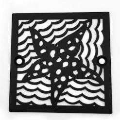 Square-Sioux-Chief-Oceanus-Starfish, Matte Black