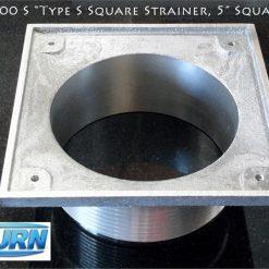 Zurn Z400S Type S Square strainer