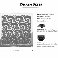 Designer Drains California Faucet Drain Throat Body