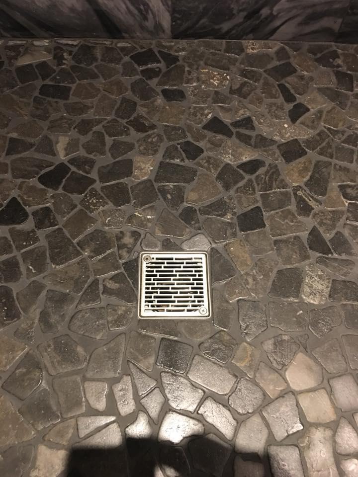 Kerdi Schluter 174 Square Shower Drain Replacement Roman Bricks