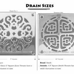 Designer-Drains_Elements-Celtic-Square-shower-drain