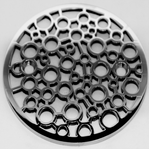 Nature Bubbles Round Kohler Shower Drain