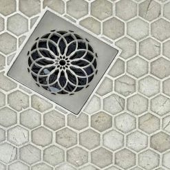 Mandala Shower Square Drains