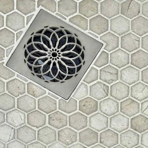 Mandala Shower Square Drains