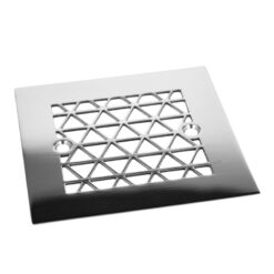 Geometric Triangle 4.25 Square Shower Drain