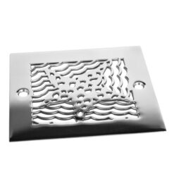 Oceanus Starfish™ | Replacement For Square Stainless Steel Shower Drain for Oatey 42238 & 42237 replacements roughs.