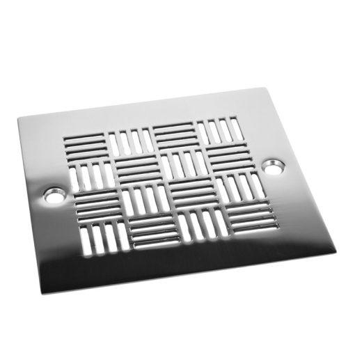 Geometric Squares No.6, square drain