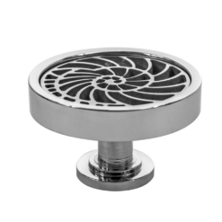 Stainless Steel Nautilus Cabinet Pulls and Cabinet knobs made for easy installations for your kitchen or bathroom cabinets