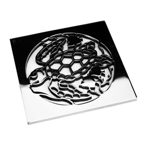 caretta, turtle square drain
