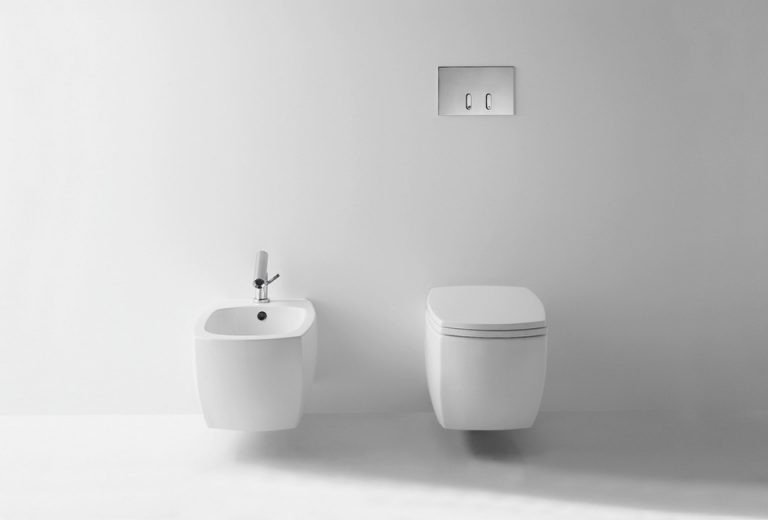 Wall Mounted Bidet By Benedini Associati