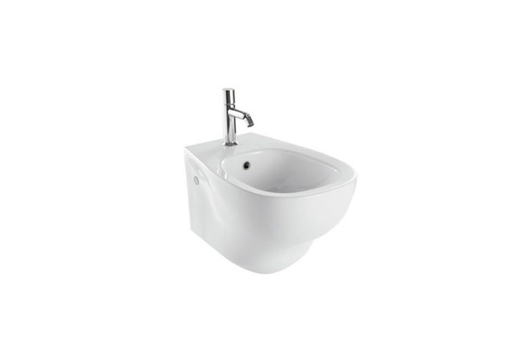 Wall Mounted Bidet - Affetto Wall-Hung Bidet