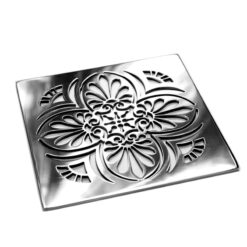 Elements Greek Anthemion™ | Replacement For California Faucets | square shower drain