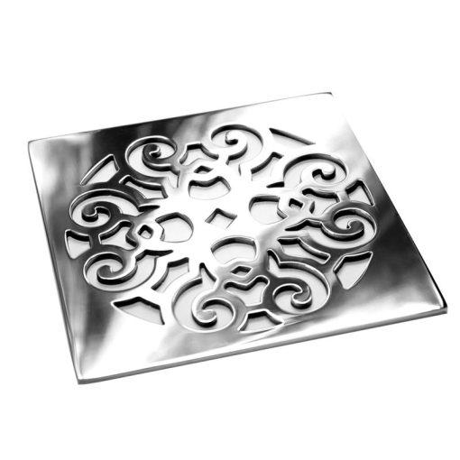 Designer Drains Classic Scrolls No.4