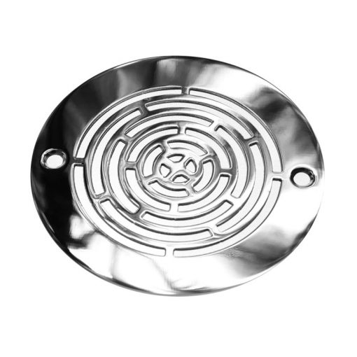 4 Inch Round Shower Drain Cover | Geometric Maze™