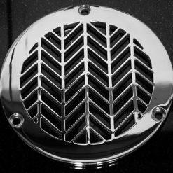 Designer Drains Geometric Wheat round Drain