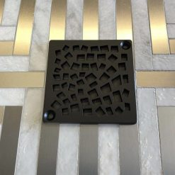Nature Random Squares Shower Drain | Replacement For Kerdi-Schluter